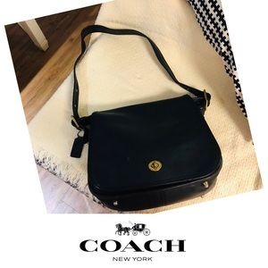 COACH SADDLE VINTAGE 9525 STEWARDESS